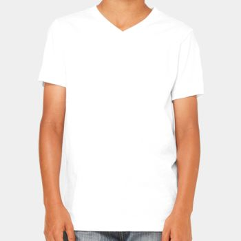 Youth Jersey Short-Sleeve V-Neck T-Shirt Thumbnail